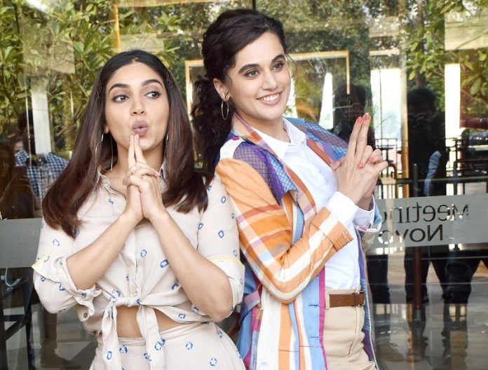 taapsee and bhumi